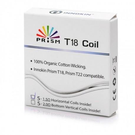 Innokin Prism T18/T18II/T22 Replacement Coils 5pk