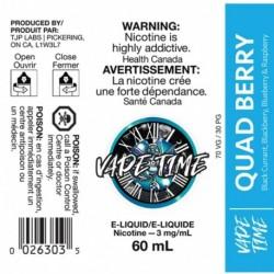 Vape Time Quadberry