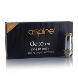 Aspire Cleito Pro 120 Mesh Replacement Coils 0.15 ohms 5pc